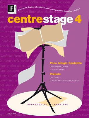Centre Stage: 4: Haydn: Poco Adagio Cantabile (from the Emperor Quartet)/Charpentier: Prelude (from Te Deum) (Sheet music)