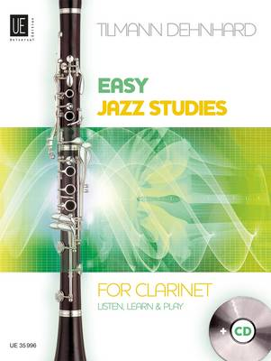 Easy Jazz Studies for Clarinet: UE 35996