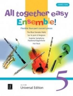 All Together Easy Ensemble!: No 5: For Flexible Ensemble / Piano Ad Lib. (Sheet music)