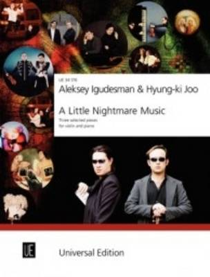A Little Nightmare Music: Three Selected Pieces for Violin and Piano (Sheet music)