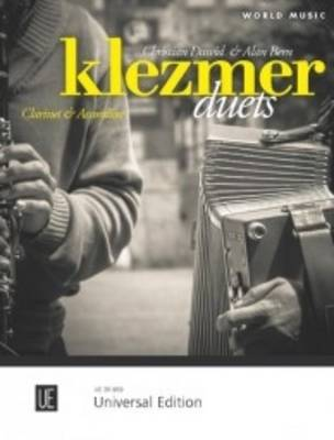 Klezmer Duets: For Clarinet and Accordian - World Music (Sheet music)