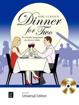Dinner for Two: Five romantic arrangements for piano duet (Sheet music)