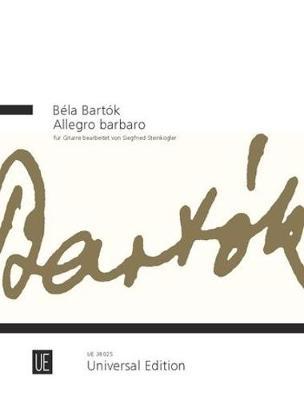 Allegro barbaro: for guitar (Sheet music)