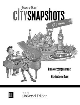 City Snapshots: Piano Accompaniment - City Snapshots (Sheet music)