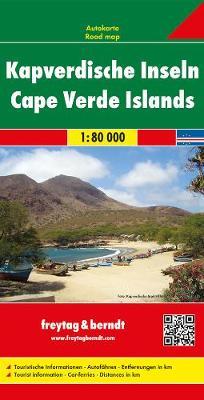 Cape Verde Islands: FB.245 (Sheet map, folded)