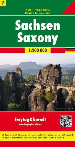 Saxony: FB.D209 (Sheet map, folded)