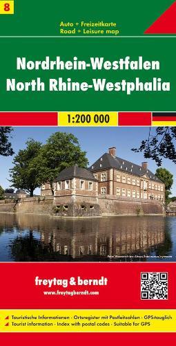Nordrhein-Westfalen: FB.D212 (Sheet map, folded)