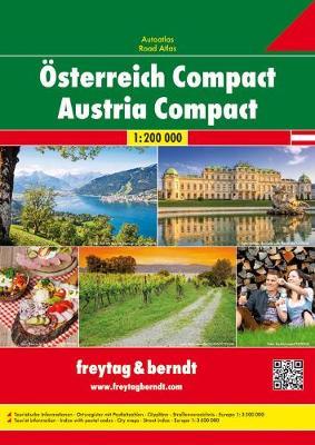 Austria Road Atlas (Paperback)