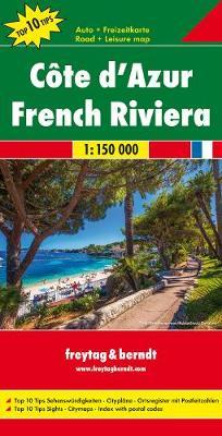 Cote d'Azur: FB.F060 (Sheet map, folded)
