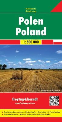 Poland Road Map 1:500 000 (Sheet map, folded)