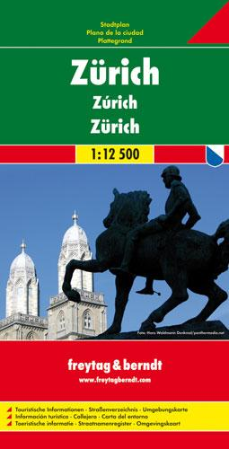 Zurich: FBC.690 - City Map (Sheet map, folded)