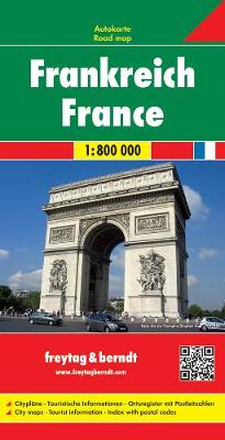 France: FB.F010 - Country Mapping S. (Sheet map, folded)