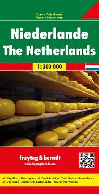 Netherlands Road Map 1:300 000 (Sheet map, folded)