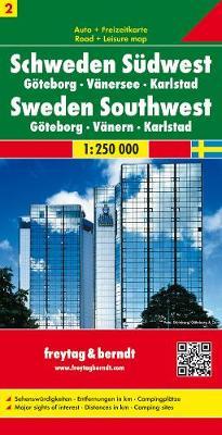 Sweden 2 Gothenburg: Goteborg, Vanersee, Karlstad No. 2: FB.Z02 (Sheet map, folded)
