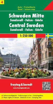 Sweden 4 Central: FB.Z04 (Sheet map, folded)