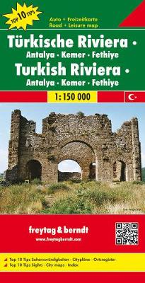 Turkish Riviera/Antalya-Kemer-Fethiye: FB.482 (Sheet map, folded)