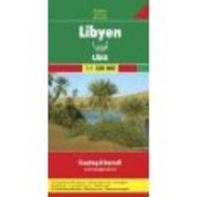 Libya: FB.290 - Road Maps (Sheet map)