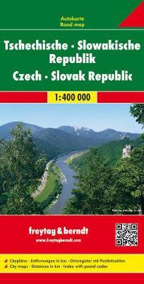 Czech and Slovak Republic: FB.T1 - Road Maps (Sheet map, folded)