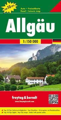 Allgau: FB.DEU01 - Road Maps (Sheet map, folded)