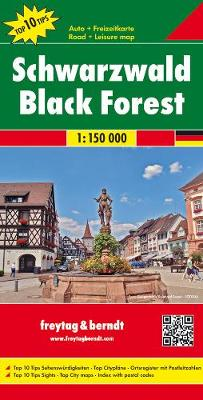 Schwarzwald: FB.DEU03 - Road Maps (Sheet map, folded)