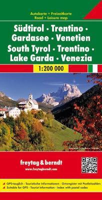 South Tyrol-Trentino-Lake Garda-Venice (Sheet map, folded)