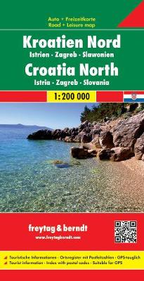 Croatia North, Istria: FB.J260 - Road Maps (Sheet map, folded)