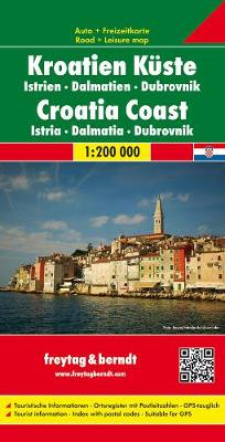 Croatian Coast-Istria: FB.J262 (Sheet map, folded)
