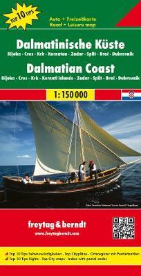 Dalmcoast, Rijeka, Cres, Krk: FB.J1060 (Sheet map, folded)