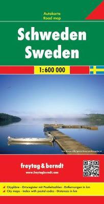 Sweden: FB.Z00 - Road Maps (Sheet map, folded)
