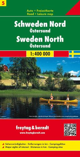 Sweden 5 North: FB.Z05 (Sheet map, folded)