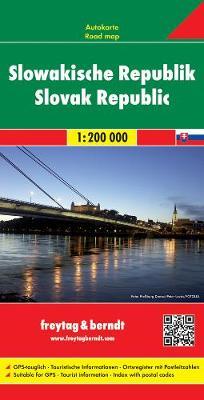 Slovakia: FB.SL25 (Sheet map, folded)