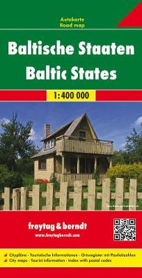 Baltic States: FB.070 (Sheet map, folded)