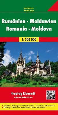 Romania-Moldavia: FB.R010 - Road Maps (Sheet map, folded)
