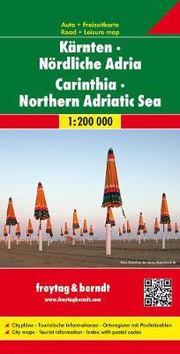 Carinthia-North Adriatic Sea: FB.O210 (Sheet map, folded)