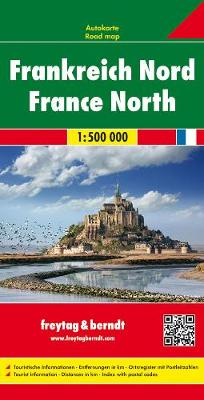 France North: FB.F015 (Sheet map, folded)