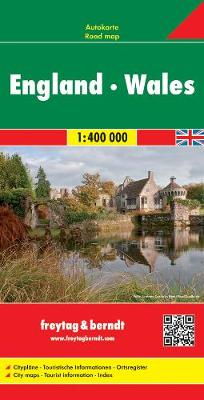 England - Wales Road Map 1:400 000 (Sheet map, folded)