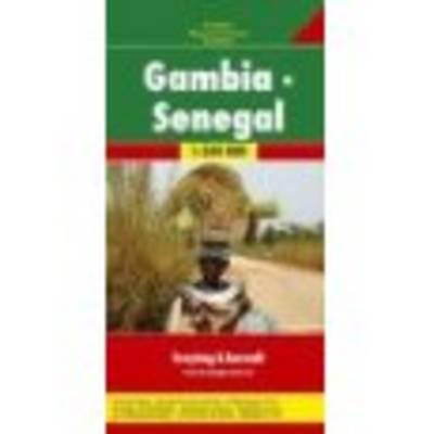 Gambia - Senegal: FB.171 (Sheet map)