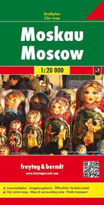 Moscow: FBC.580 (Sheet map, folded)
