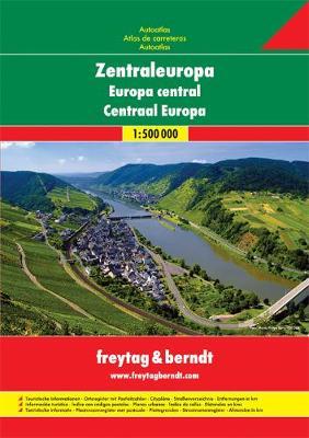 Europe Central Road Atlas: FBA060 (Paperback)