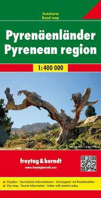 Pyrenees States: FB.392 - Road Maps (Sheet map, folded)