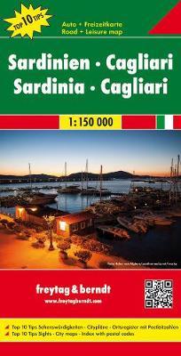 Sardinia - Cagliari: FB.I401 (Sheet map, folded)