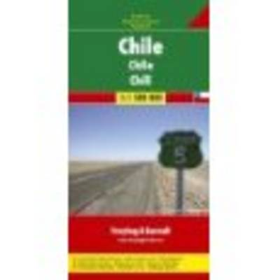 Chile: FB.100 - Road Maps (Sheet map)