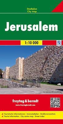 Jerusalem: FBC.547 (Sheet map, folded)