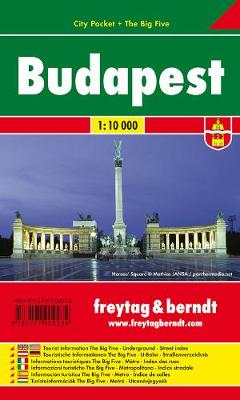 Budapest: FBCP.100 (Sheet map, folded)