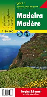Madeira (Hiking, Cycling and Leisure) 2018 (Sheet map, folded)