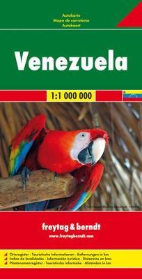 Venezuela: FB.488 (Sheet map, folded)