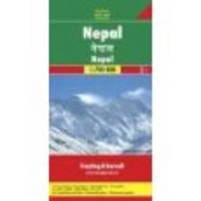 Nepal: FB.353 - Road Maps (Sheet map)
