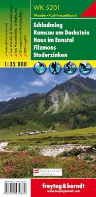 Schladming - Ramsau am Dachstein - Haus Im Ennstal - Filzmoos - Stoderzinken Hiking + Leisure Map 1:35 000 (Sheet map, folded)