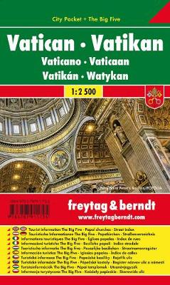 Vatican City Pocket + the Big Five Waterproof 1:2 500 (Sheet map, folded)