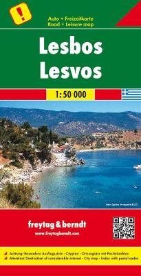 Lesbos, Special Places of Excursion Road Map 1:50 000 (Sheet map, folded)